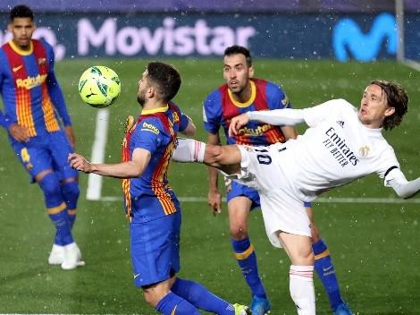 El favorito para Barcelona vs Real Madrid en el Clásico