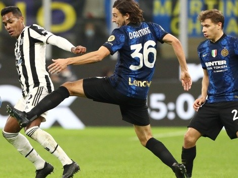 El VAR impide triunfo del Inter con Alexis ante la Juve