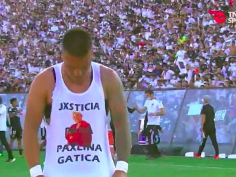 Parraguez y su gesto tras el gol: pide justicia para Paulina Gatica