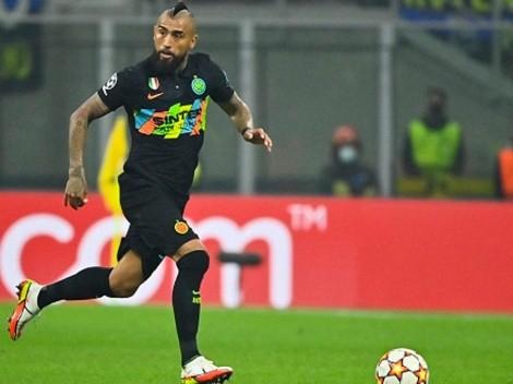 Vidal se recupera de la gripe, pero sigue en duda contra Empoli