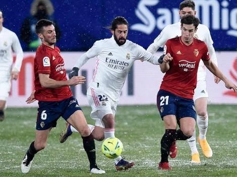 ¿Cuándo juega el Real Madrid contra el Osasuna por la Liga de España?