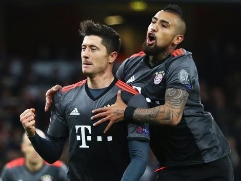 Lewandowski reconoce que todavía sigue a Vidal y la Roja