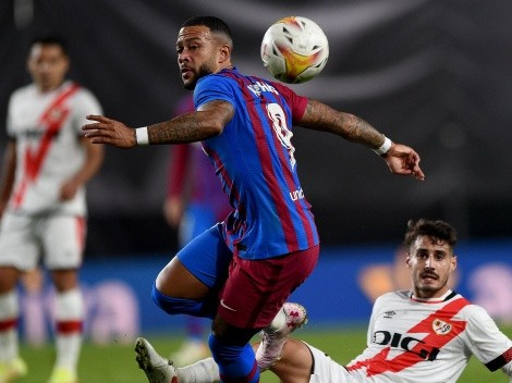 Barcelona sigue en caída libre y pierde con Rayo Vallecano
