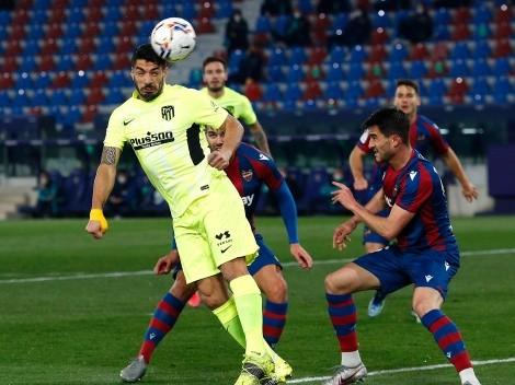 ¿Cuándo y a qué hora juega Levante vs Atlético de Madrid por La Liga?