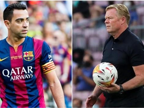 Anuncian acuerdo entre Xavi Hernández y Barcelona