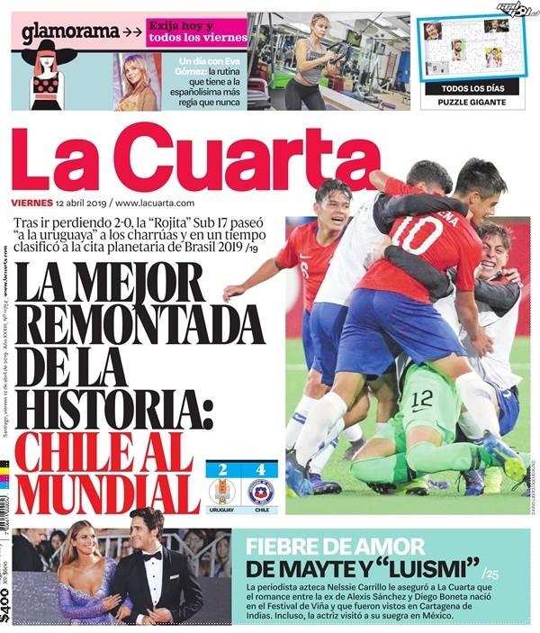 La selección Sub 17 estalla en la prensa chilena tras ...