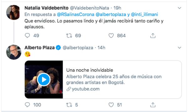 El tenso round entre Natalia Valdebenito y Alberto Plaza por show en