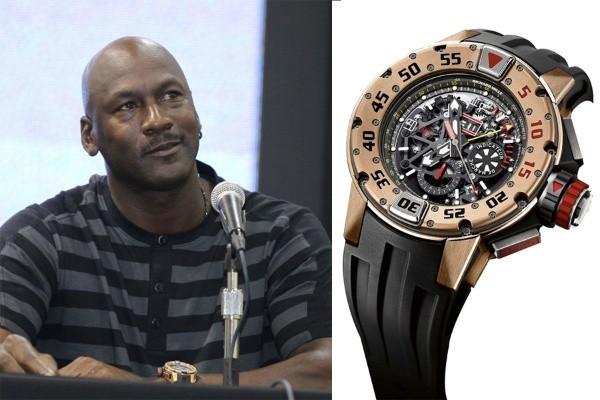 Mezclado A través de popurrí  La desconocida colección de relojes de Michael Jordan   RedGol