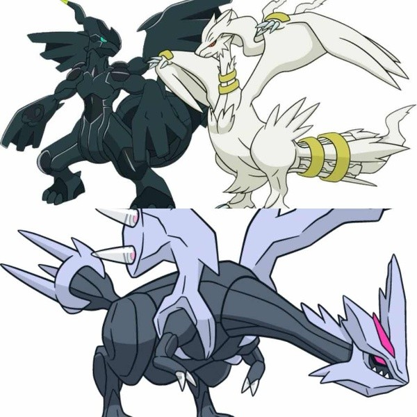Reshiram Zekrom y Kyurem en Pokémon GO