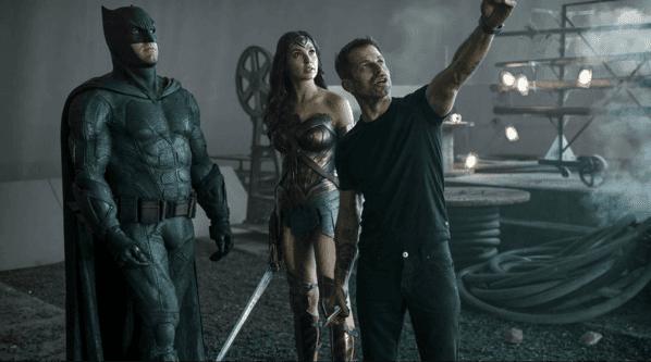 Zack Snyder participó de la producción de