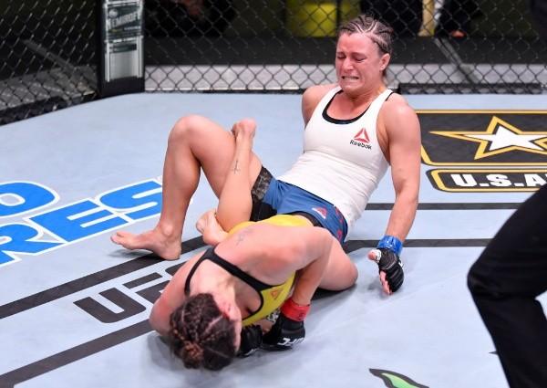 UFC Vegas: Mackenzie Dern lo da vuelta y somete a Hannah Cifers | RedGol