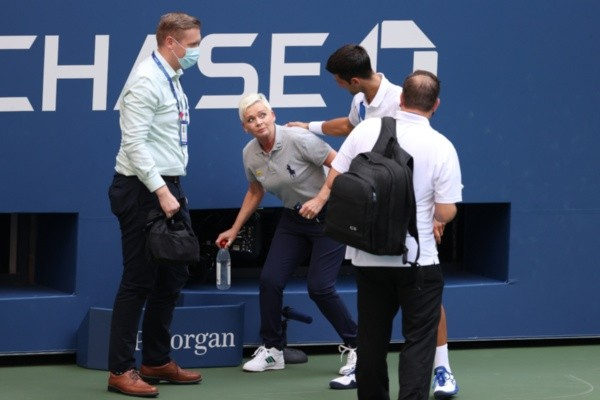 Djokovic en el US Open