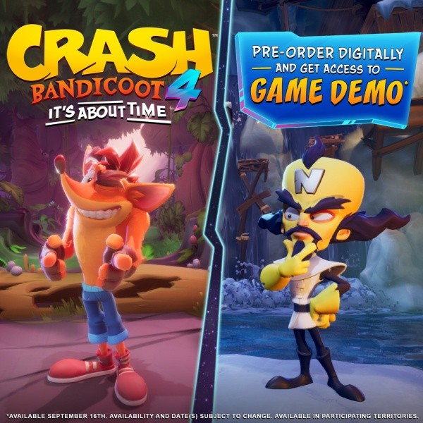 Demo de Crash Bandicoot 4: It's About Time