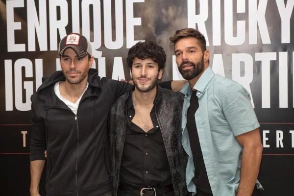 Enrique Iglesias hará una gira con Ricky Martin y Sebastián Yatra en 2021
