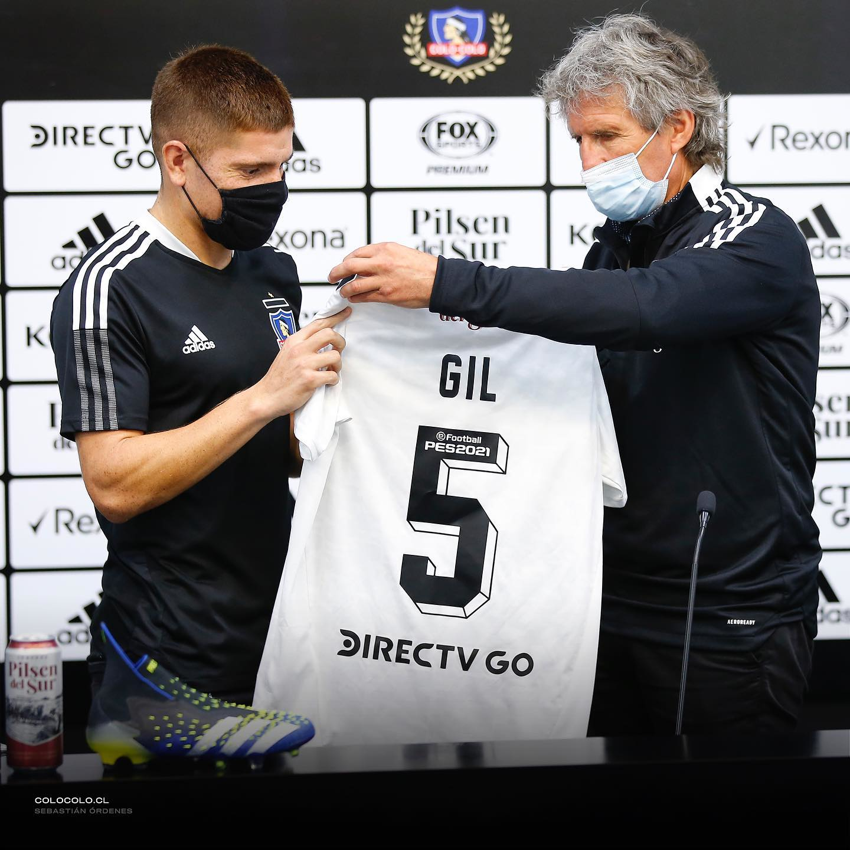 Colo Colo: Leonardo Gil oficializado y llega con todo con palabras claras  para el hincha del Cacique | RedGol